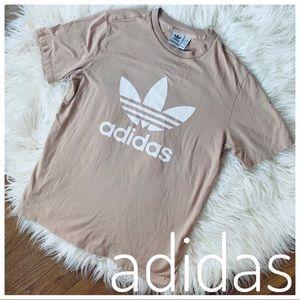 ADIDAS beige make up color T-shirt